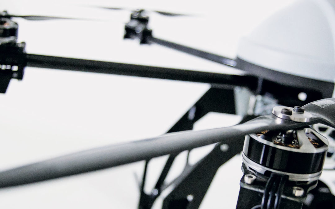 Skyrobotic obtained the project certification by ENAC for the drones SR-SF6: